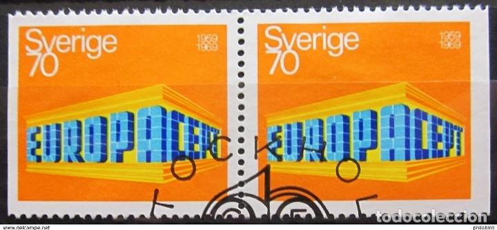 SELLOS USADOS DE SUECIA, YT 615A (Sellos - Extranjero - Europa - Suecia)