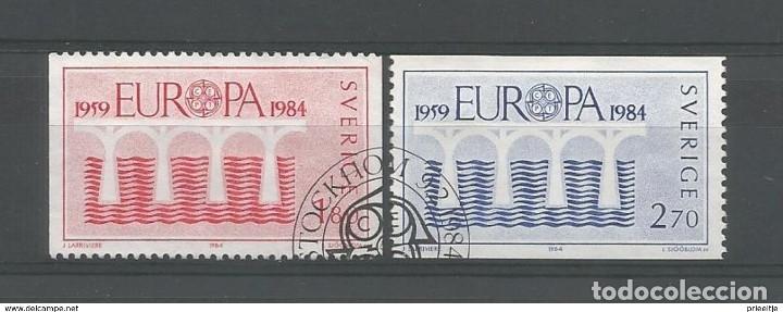 SELLOS USADOS DE SUECIA, YT 1252/ 53 (Sellos - Extranjero - Europa - Suecia)