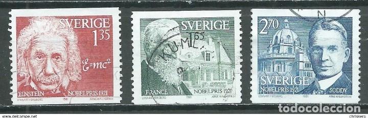 SELLOS USADOS DE SUECIA, YT 1155/ 57 (Sellos - Extranjero - Europa - Suecia)