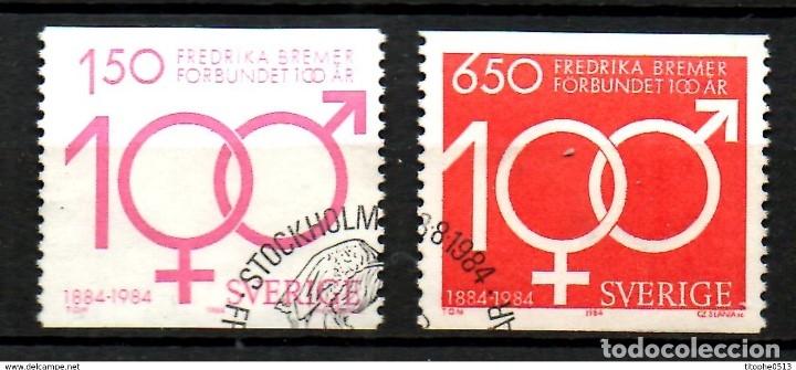 SELLOS USADOS DE SUECIA, YT 1280/ 81 (Sellos - Extranjero - Europa - Suecia)