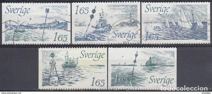 SELLOS USADOS DE SUECIA, YT 1178/ 82. (Sellos - Extranjero - Europa - Suecia)