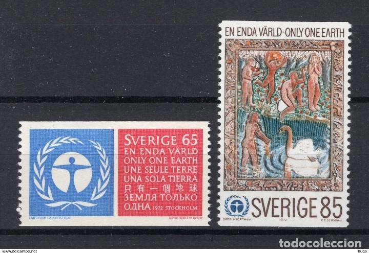 SELLOS USADOS DE SUECIA, YT 737/ 38 (Sellos - Extranjero - Europa - Suecia)