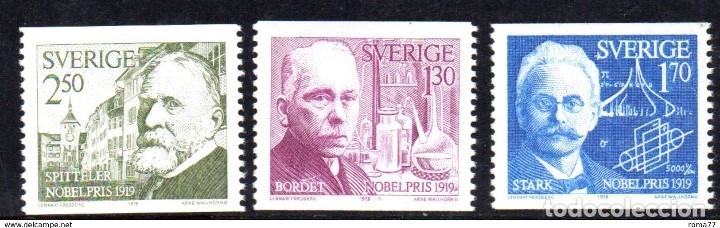 SELLOS USADOS DE SUECIA, YT 1075/ 77 (Sellos - Extranjero - Europa - Suecia)