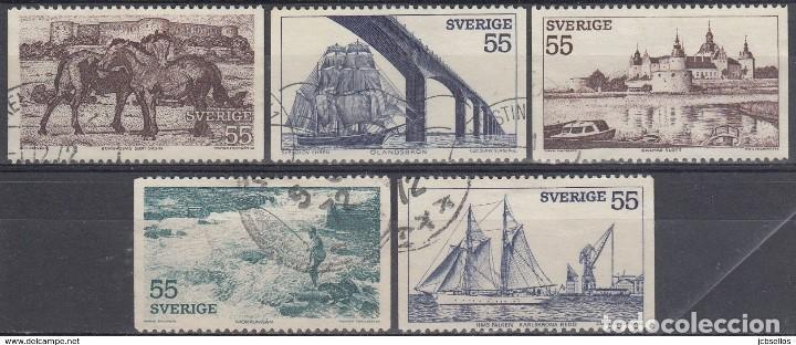 SELLOS USADOS DE SUECIA, YT 732/ 36 (Sellos - Extranjero - Europa - Suecia)