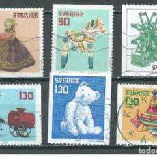 Sellos: SELLOS USADOS DE SUECIA, YT 1027/ 32. Lote 184078863