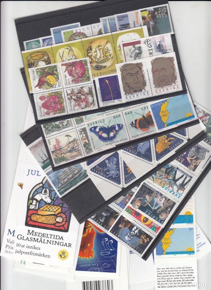 SUECIA - AÑO COMPLETO 1999 EN NUEVO - VALOR CAT. YVERT 2001 - 288,60E. VER FOTOS ADICIONALES (Sellos - Extranjero - Europa - Suecia)