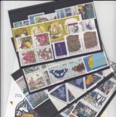 Sellos: SUECIA - AÑO COMPLETO 1999 EN NUEVO - VALOR CAT. YVERT 2001 - 288,60E. VER FOTOS ADICIONALES. Lote 184361415