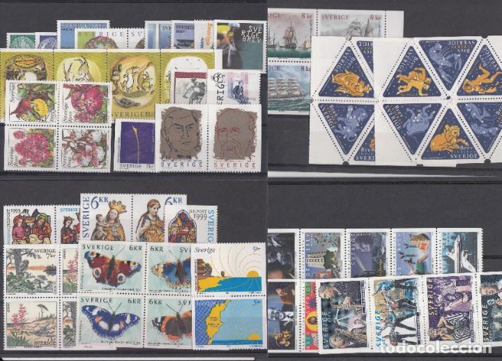 Sellos: SUECIA - AÑO COMPLETO 1999 EN NUEVO - VALOR CAT. YVERT 2001 - 288,60E. VER FOTOS ADICIONALES - Foto 2 - 184361415