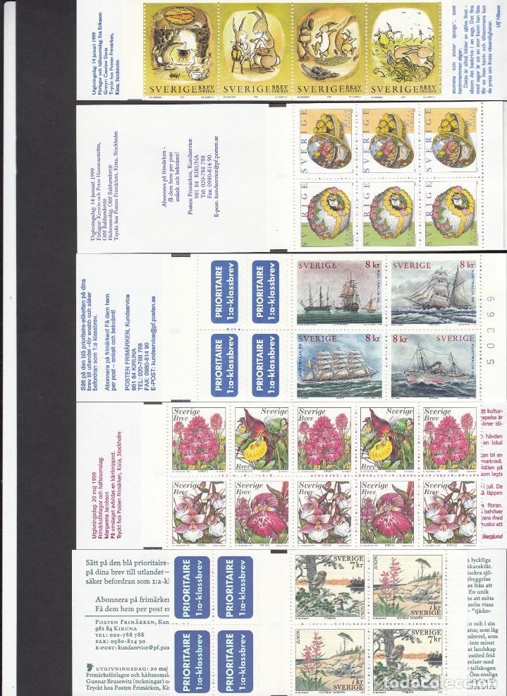 Sellos: SUECIA - AÑO COMPLETO 1999 EN NUEVO - VALOR CAT. YVERT 2001 - 288,60E. VER FOTOS ADICIONALES - Foto 3 - 184361415
