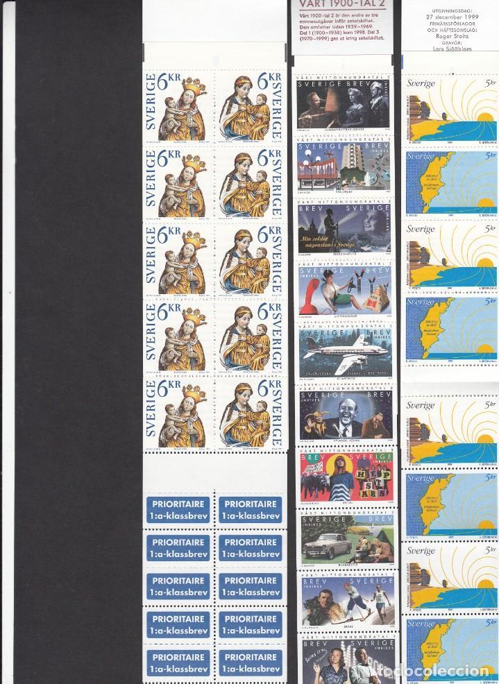 Sellos: SUECIA - AÑO COMPLETO 1999 EN NUEVO - VALOR CAT. YVERT 2001 - 288,60E. VER FOTOS ADICIONALES - Foto 5 - 184361415