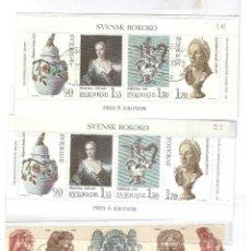 Sellos: LOTE SUECIA,YT BF 7 (2), YT 625/629(1),SIN GOMA ORIGINAL,SIN FIJASELLOS.. Lote 186462968