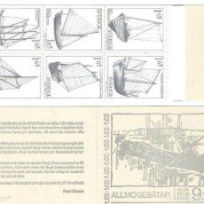 Sellos: SUECIA,1981,CARNÉ CAT.MI 83.. Lote 186463006