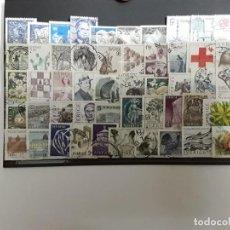 Selos: SUECIA 50 SELLOS DIFERENTES F.G. USADOS. Lote 192649895