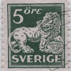 Sellos: SUECIA YT :SE123 5 ORE. Lote 194660940