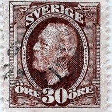 Sellos: SUECIA YT :SE 47 REY OSCAR LL 1891 (30 ORE ). Lote 194670043