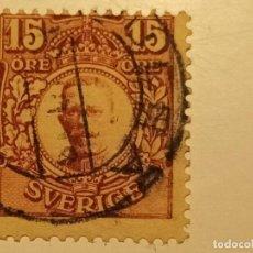 Sellos: SUECIA 1911 - 1919 REY GUSTAVO V. Lote 287209598