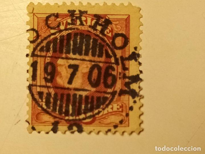 SUECIA 1891-1903 REY OSCAR II 15 ÖRE (Sellos - Extranjero - Europa - Suecia)