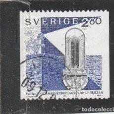Sellos: SUECIA 1992 - YVERT NRO. 1718 - USADO - . Lote 198466720