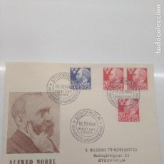 Sellos: STOCKHOLM 10-12-1946 FIRST DAY ALFRED NOBEL. Lote 198748012