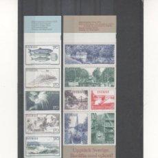 Sellos: SUECIA-CARNETS AÑO 79 NUEVOS( SEGÚN FOTO). Lote 199036912