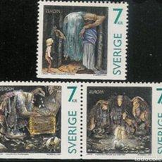 Sellos: SUECIA, MNG, CUENTOS Y LEYENDAS, EUROPA CEPT 1997 (FOTOGRAFÍA ESTÁNDAR). Lote 220061655