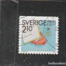 Sellos: SUECIA 1989 - YVERT NRO. 1524 - USADO -. Lote 205288143
