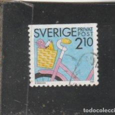Sellos: SUECIA 1989 - YVERT NRO. 1526 - USADO -. Lote 205288377