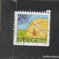 Sellos: SUECIA 1989 - YVERT NRO. 1529 - USADO -. Lote 205288725