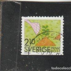 Sellos: SUECIA 1989 - YVERT NRO. 1532 - USADO -. Lote 205288937