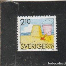 Sellos: SUECIA 1989 - YVERT NRO. 1533 - USADO -. Lote 205289115