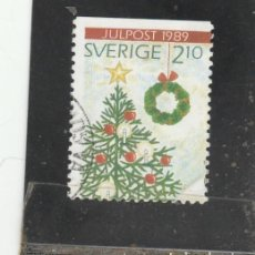 Sellos: SUECIA 1989 - YVERT NRO. 1554 - USADO -. Lote 205289405