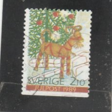 Sellos: SUECIA 1989 - YVERT NRO. 1557 - USADO -. Lote 205289500