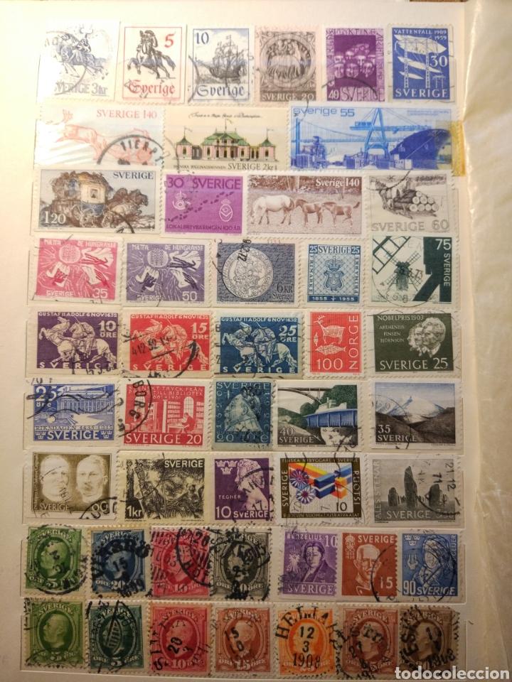 Sellos: Album de sellos de suecia, diversos años desde 1870 a 1990 - Foto 3 - 207849875