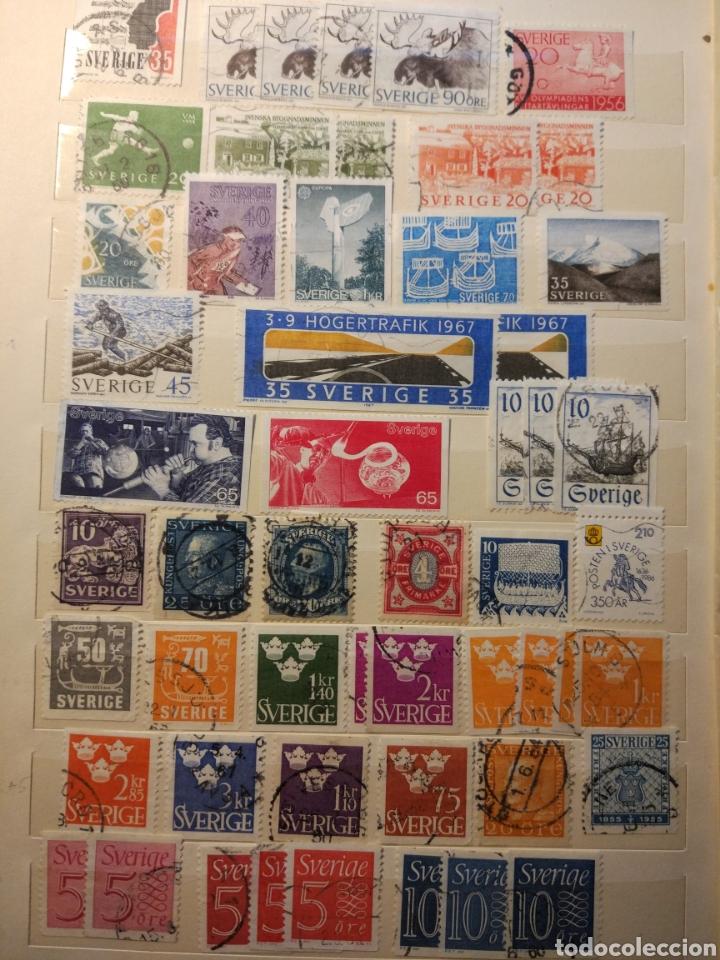 Sellos: Album de sellos de suecia, diversos años desde 1870 a 1990 - Foto 4 - 207849875
