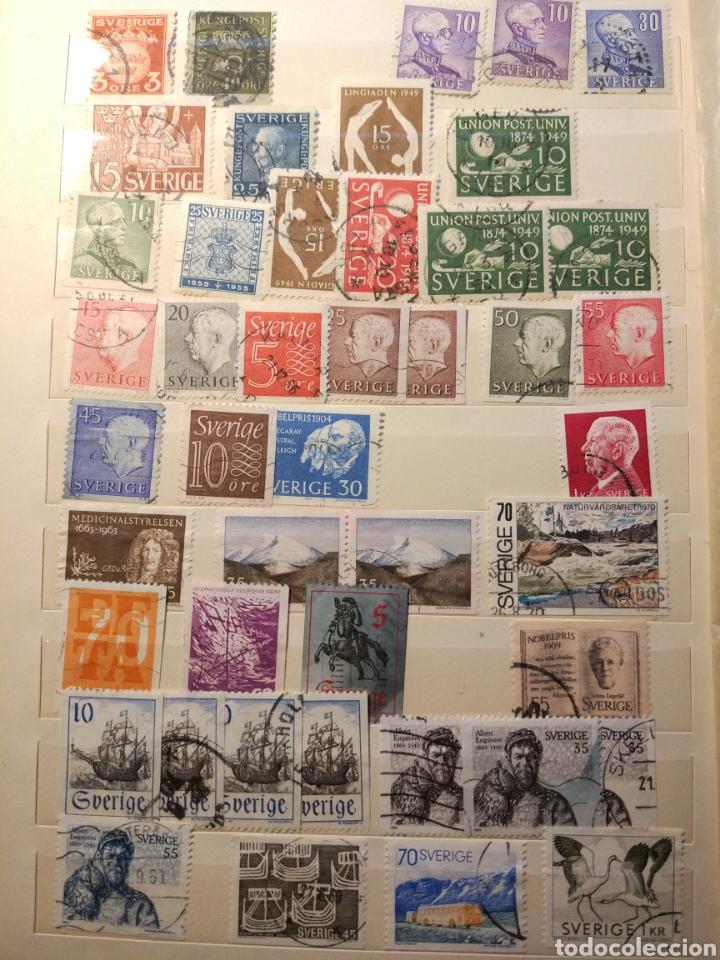 Sellos: Album de sellos de suecia, diversos años desde 1870 a 1990 - Foto 6 - 207849875