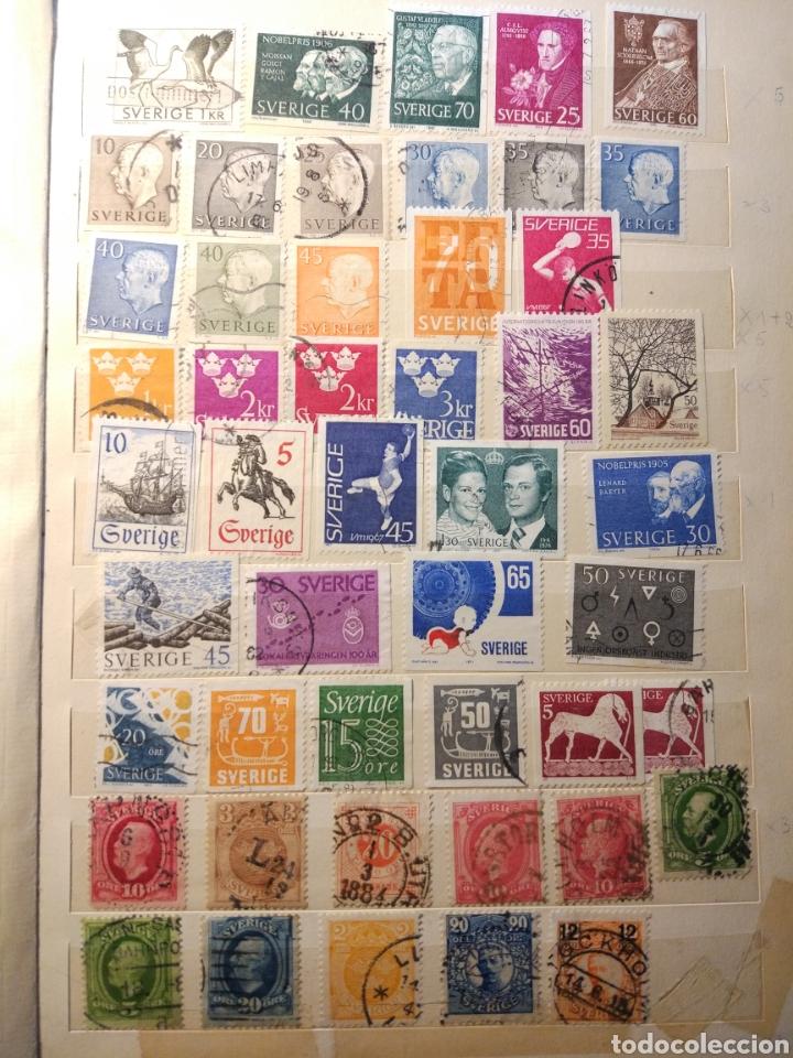 Sellos: Album de sellos de suecia, diversos años desde 1870 a 1990 - Foto 7 - 207849875