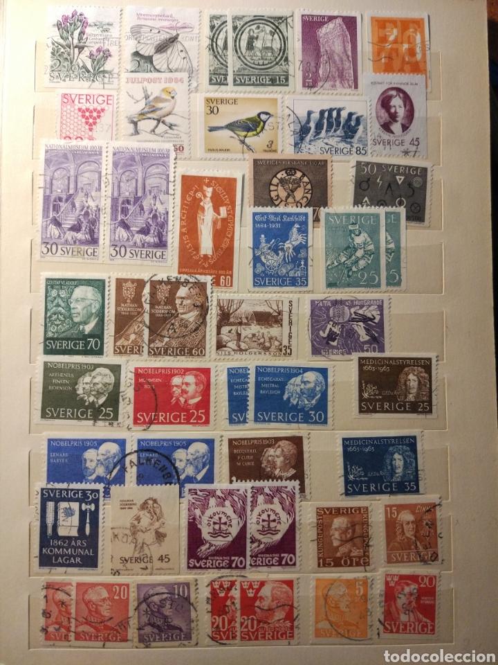 Sellos: Album de sellos de suecia, diversos años desde 1870 a 1990 - Foto 8 - 207849875