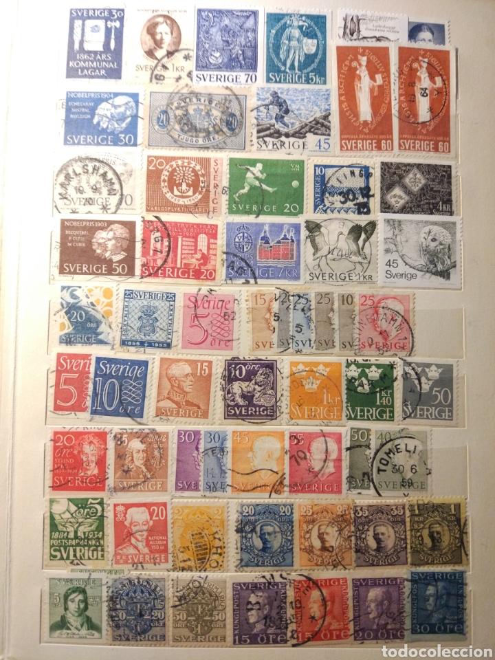 Sellos: Album de sellos de suecia, diversos años desde 1870 a 1990 - Foto 9 - 207849875
