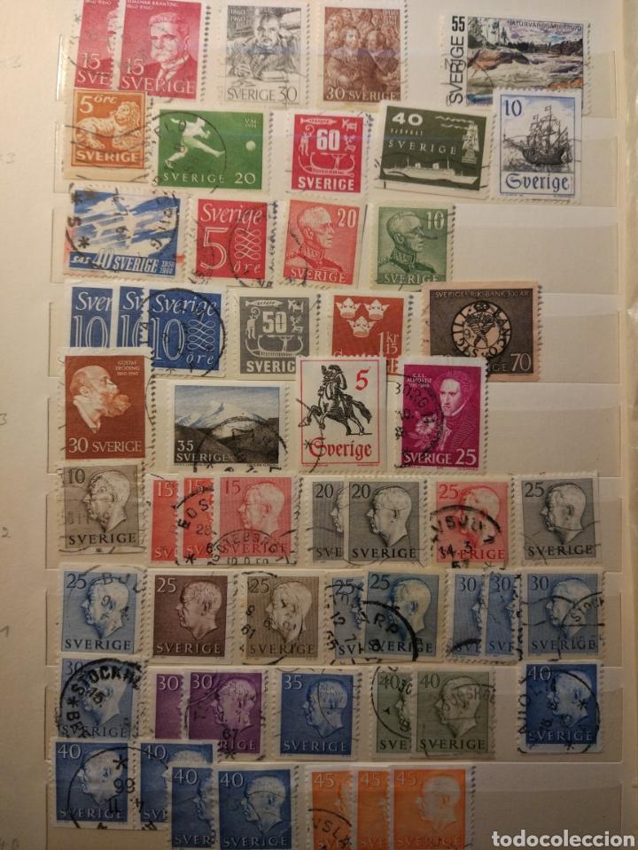 Sellos: Album de sellos de suecia, diversos años desde 1870 a 1990 - Foto 12 - 207849875