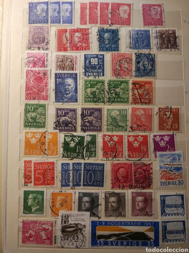 Sellos: Album de sellos de suecia, diversos años desde 1870 a 1990 - Foto 13 - 207849875