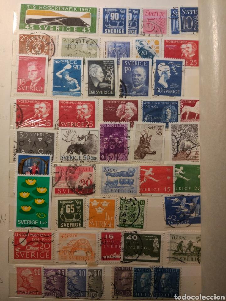 Sellos: Album de sellos de suecia, diversos años desde 1870 a 1990 - Foto 14 - 207849875