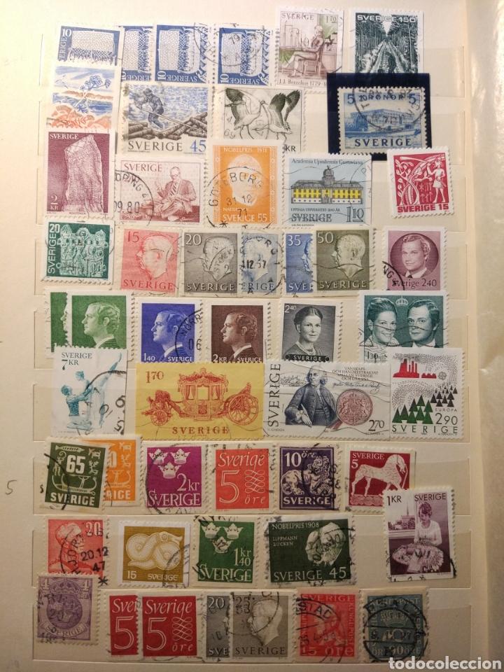 Sellos: Album de sellos de suecia, diversos años desde 1870 a 1990 - Foto 16 - 207849875