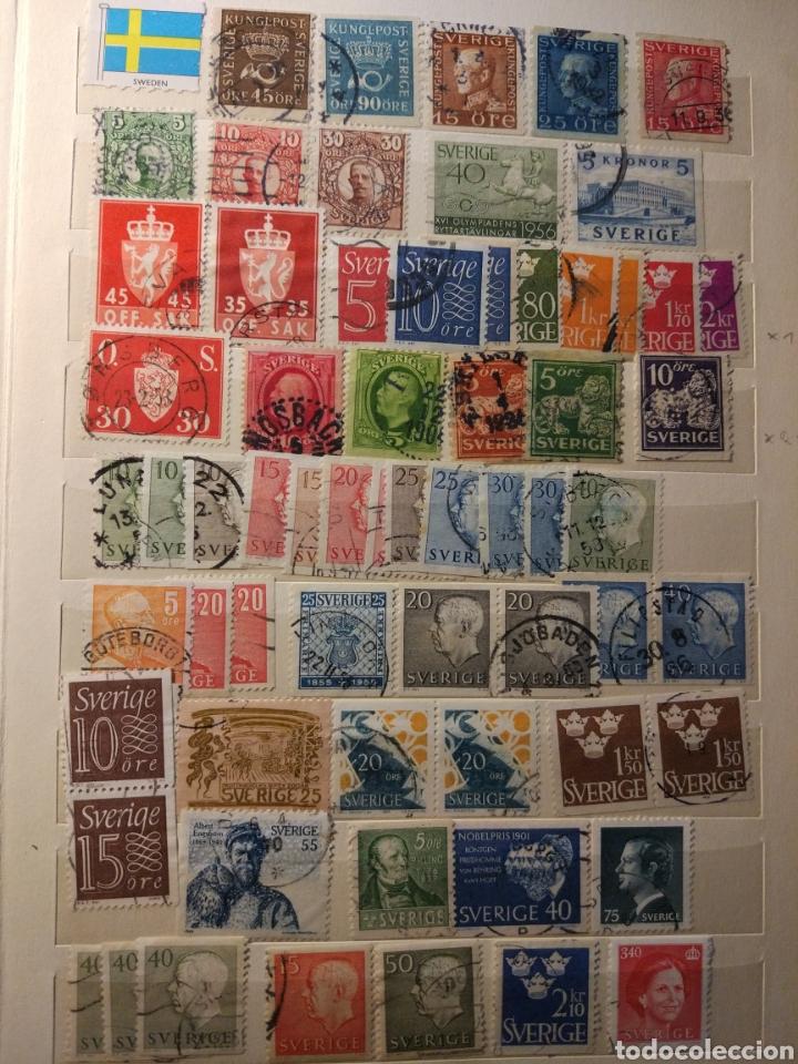 Sellos: Album de sellos de suecia, diversos años desde 1870 a 1990 - Foto 17 - 207849875