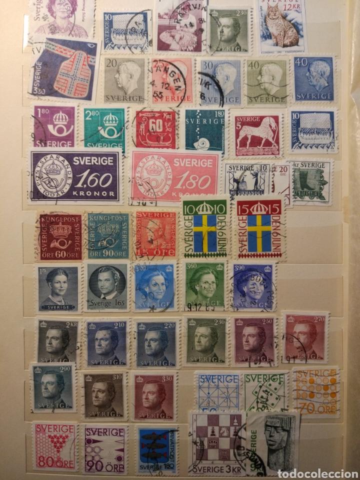 Sellos: Album de sellos de suecia, diversos años desde 1870 a 1990 - Foto 18 - 207849875