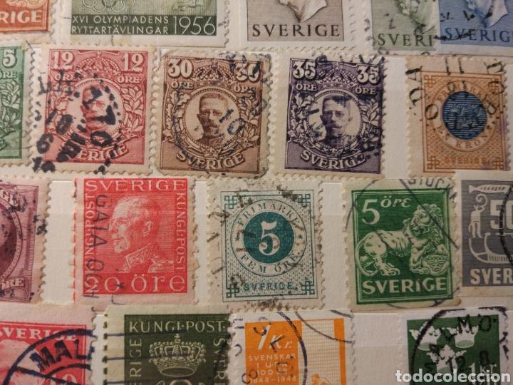 Sellos: Album de sellos de suecia, diversos años desde 1870 a 1990 - Foto 20 - 207849875