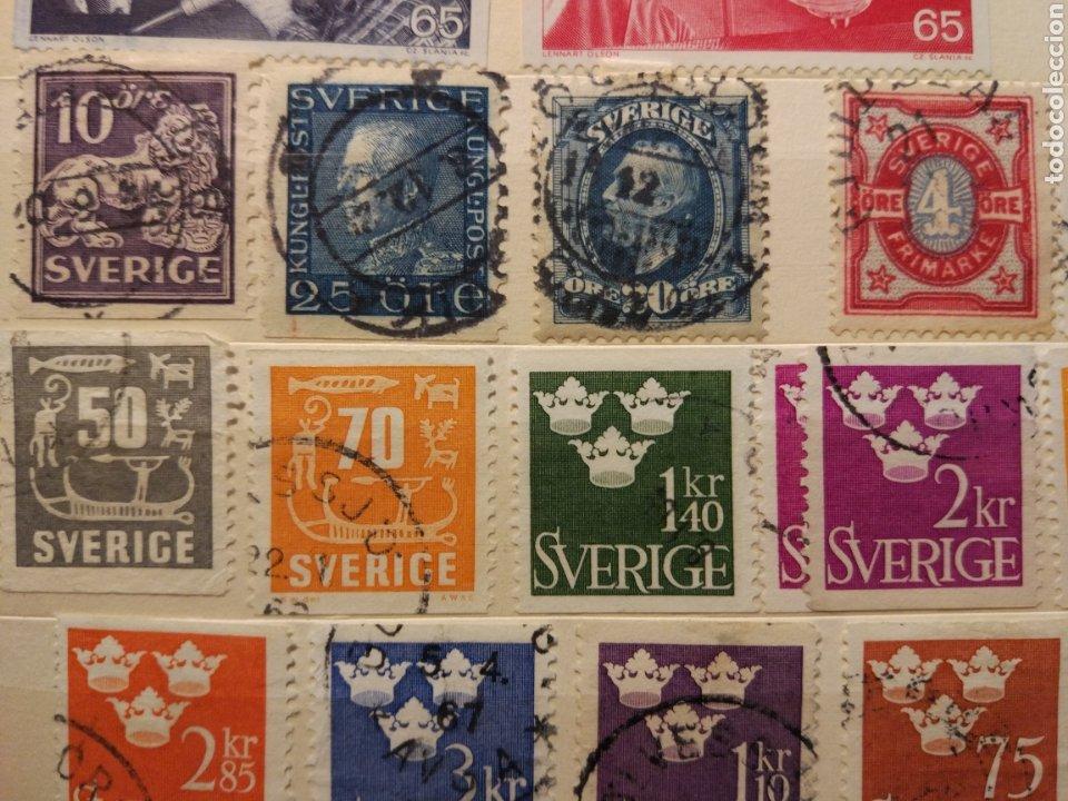 Sellos: Album de sellos de suecia, diversos años desde 1870 a 1990 - Foto 21 - 207849875