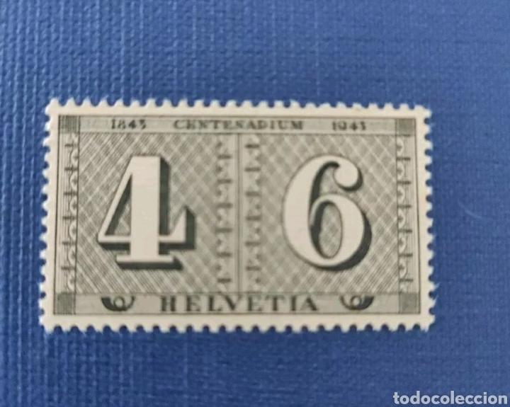VIEJO SELLO HELVETIA - CENTENARIO 1943 (Sellos - Extranjero - Europa - Suecia)