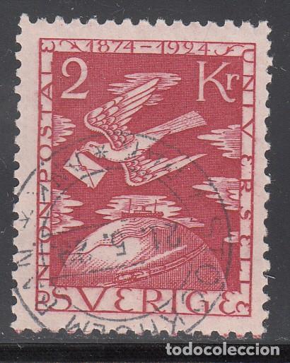 SUECIA, 1924 YVERT Nº 191 , CENTENARIO DE LA UNIÓN POSTAL, U.P.U (Sellos - Extranjero - Europa - Suecia)