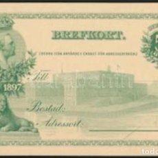 Sellos: 1897 SUECIA TARJETA POSTAL FRANQUEADA. Lote 210780179
