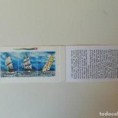 Sellos: CARNET BARCOS SUECIA (1). Lote 217141926